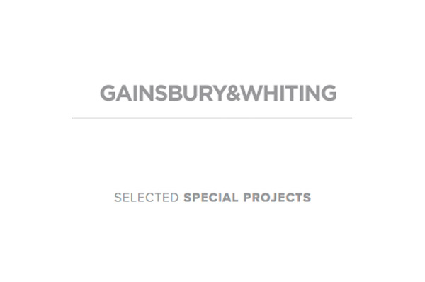 Sound Design for Special Projects with Gainsbury & Whiting
